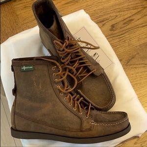 EASTLAND UP COUNTRY 1955 TAN/BROWN BOOTS. …